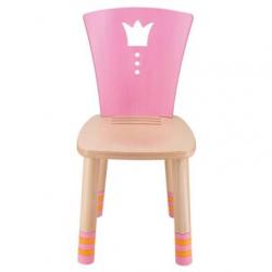 Dětská dřevěná židlička Haba Šípková Růženka růžová