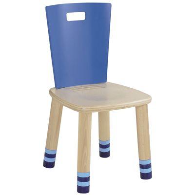 Dětská dřevěná židlička Haba Marcello modrá