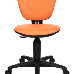 Rosnące krzesełko High Kid pomarańczowe