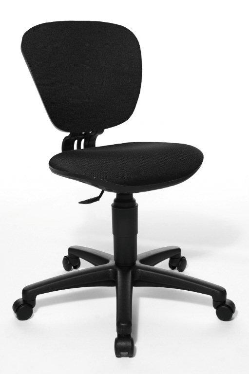 Rostoucí židle High Kid černá