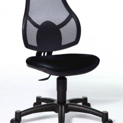 Rosnące krzesełko Open Art Junior czarne