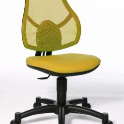 Rosnące krzesełko Open Art Junior żółte