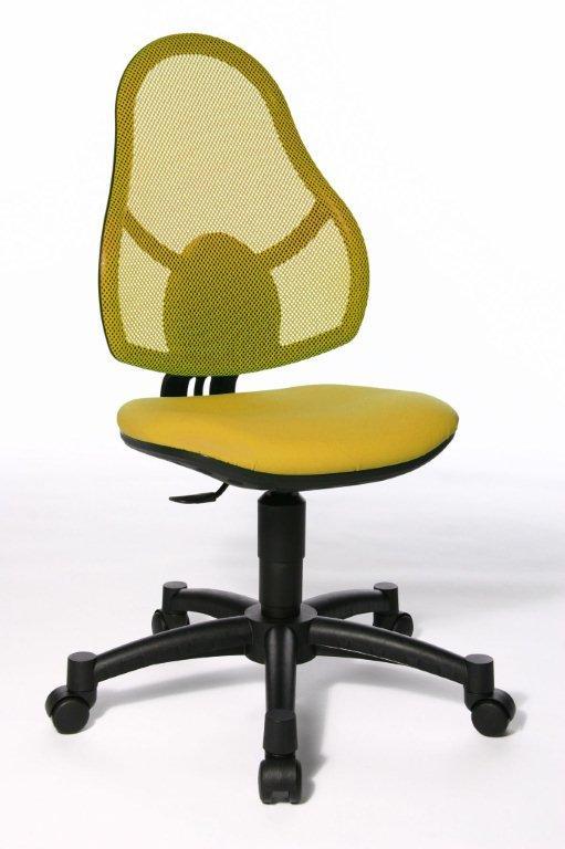 Rostoucí židle Open Art Junior žlutá