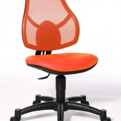 Rosnące krzesełko Open Art Junior pomarańczowe