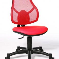 Rosnące krzesełko Open Art Junior czerwone