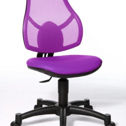 Rosnące krzesełko Open Art Junior fioletowe