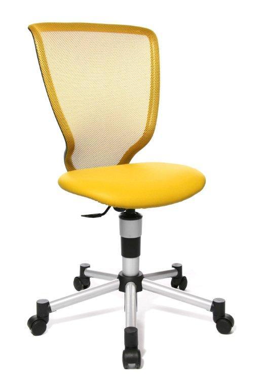 Rostoucí židle Titan Junior žlutá