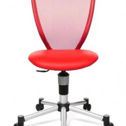 Rosnące krzesełko Titan Junior czerwone