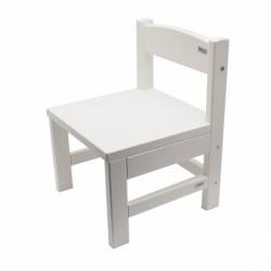 Dětská židlička Hany bílá