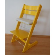 Detská rastúca stolička JITRO KLASIK žltá