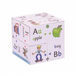 Didaktická kniha v kocke - Prvá abeceda
