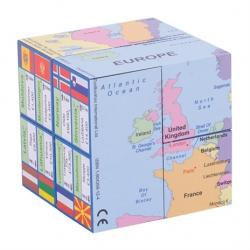 Didaktická kniha v kocke - Mapa Európy