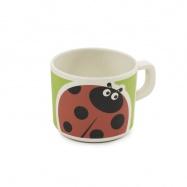 ZOPA Bambusový hrníček, Ladybird