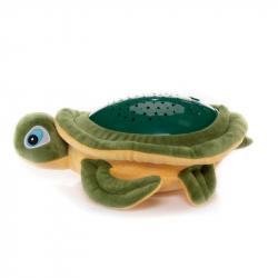 Plyšová hračka Želva s projektorem, Green