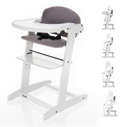 Grow-up rastúce stolička, White / Grey