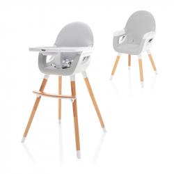 Dětská židlička Dolce 2, Dove Grey/White