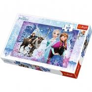 Puzzle 160 - Zimní dobrodružství / Disney Frozen