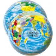 Lopta Mapa sveta 23 cm