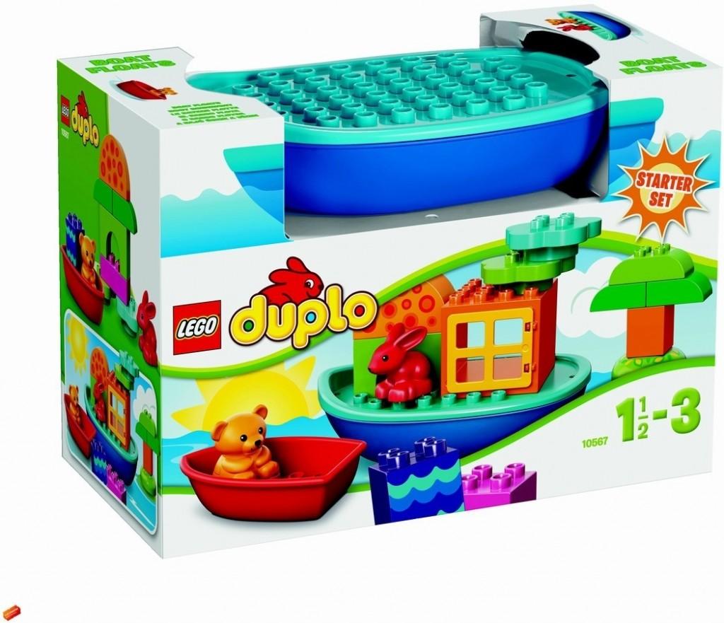 LEGO® DUPLO Sada pro batolata  - Postav si loďku 10567