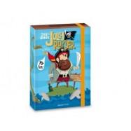 Box na sešity Pirát Jolly Roger A5