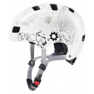 UVEX HELMA KID 3, WHITE FLOWER 55-58 cm