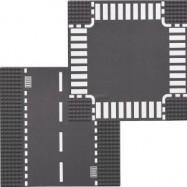 LEGO® CITY rovná silnice + křižovatka 7280