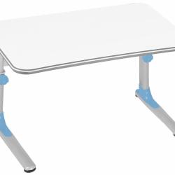 Rosnące biurko JUNIOR 32W1 17 niebieskie