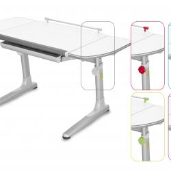 Rosnące biurko Profi 3 białe 32W3 54 TW
