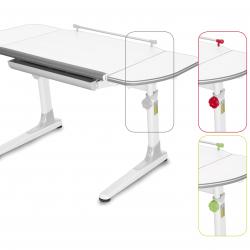 Rosnące biurko Profi 3 białe 32W3 58 TW