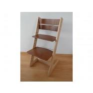 Dětská rostoucí židle JITRO KLASIK bukovo ořechová