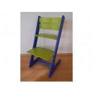 Dětská rostoucí židle JITRO KLASIK modro sv. zelená