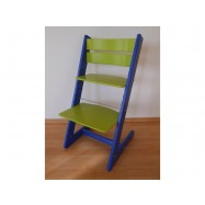 Detská rastúca stolička JITRO KLASIK modro sv. zelená