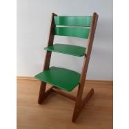 Dětská rostoucí židle JITRO KLASIK ořechovo zelená