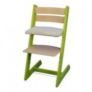 Detská rastúca stolička JITRO KLASIK sv.zelená buková