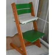Dětská rostoucí židle JITRO KLASIK třešňovo zelená