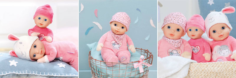 baby Annabell for babies
